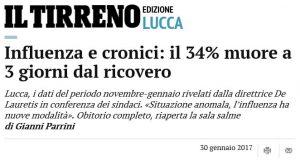 Lucca - allarme sulla mortalità all'ospedale San Luce
