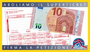 Aboliamo il Superticket - Petizione
