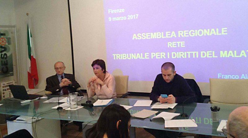 Tribunale Diritti del Malato: assemblea regionale - Firenze, 9 Marzo 2017