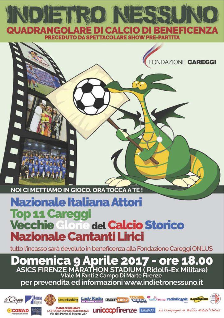 Indietro Nessuno - Quadrangolare Fondazione Careggi
